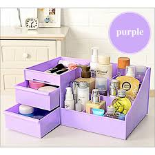 new style waterproof makeup box drawer type women cosmetic case box big makeup tools make