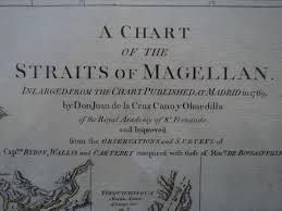 Amerika Zuid Amerika Straat Magellaan Falklandeilanden Robert Sayer John Bennett A Chart Of The Straits Of Magellan 1776 Catawiki