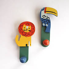wooden jungle animals clothes hooks previous