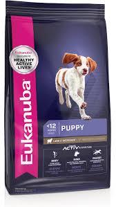 Eukanuba Large Breed Puppy Feeding Chart Eukanuba Puppy Lamb Rice Formula Dry Dog Food 30 Lb Bag