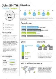 Infographic Resume Templates Simple Infographic Resume Template Work Pinterest Infographic Resume