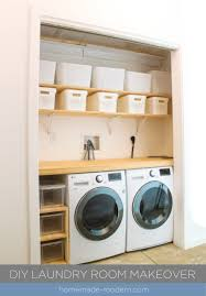 laundry furniture. The Shelving For This DIY Laundry Room Was Made Out ¾\u201d Plywood From Home Depot Furniture N