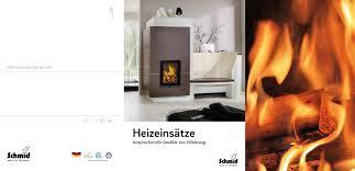 Schmid Heizeinstze By Brunner Gmbh Issuu