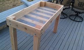 build elevated garden bed. Perfect Garden Building A Raised Herb Garden Build Elevated Beds DIY Decorating  Room Design Ideas Throughout Bed A