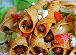 Image result for mexican flautas