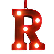 Red Light Up Marquee Letters St Nicholas Square Red Light Up Marquee Letter Christmas