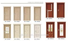 nice door manufacturers jiekai tp9014 wooden external doors wood garage doors pvc door