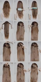 Meilleur De Idee Coiffure Cheveux Long Idees Facile Rapide