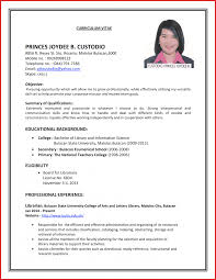 Resume Interview Resume Format Hostess For Job Interviewing Skills