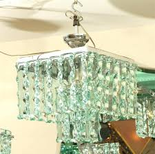 beveled glass chandelier beveled glass chandelier square ceiling fixture for 1 smoked panels id f beveled glass chandelier