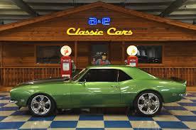 1968 Chevrolet Camaro RS Pro-Touring – Green / Silver – A&E ...