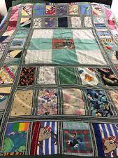 "Handmade Patchwork Quilt | eBay & VINTAGE HANDMADE NOVELTY PRINT PATCHWORK QUILT 58"" X 85 Adamdwight.com"