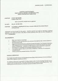 Printable Resume Samples Court Reporter Resume Samples Fungramco 96