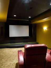 home theater ceiling lighting. Alluring Cool Home Theater Rooms With Black Ceiling Lights And White Wall Light Fixtures At Yellow Lighting