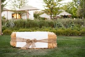 Stylish Hay Bale Wedding Seating Hay Bales Hay Bale Seating And Hay On  Pinterest
