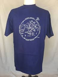 Vintage 1985 Glow In The Dark Single Stitch Summer Star Chart T Shirt Hanes Beefy T Mens Xl Made In Usa