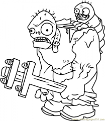 Coloring Pages Plants Vs Zombies Coloring Pages Of Minerplants