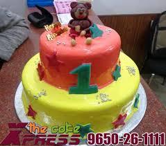 2 Tier Kids Cake Delivery In Ghaziabad Designer Cakes In Ghaziabad