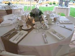 burlap diy table runners wedding for round tables runner on the s