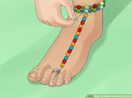 image titled make barefoot sandals step 6