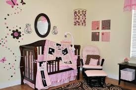 elegant baby furniture. Decoration: Elegant Nursery Furniture Baby Decor Inspiring Designing Girl Bumper Black Pink Brown Mirror Sets N