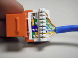 cat 5 wiring diagram wall jack the trench how to punch down cat5e cat6 keystone jacks note how the jacket is very leviton cat5e jack wiring diagram