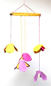 Paper Flower Mobiles Diy Paper Flower Mobile 11 Baby And Breakfast