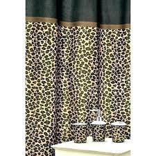 cheetah print bathroom set leopard leopard print bath rug sets