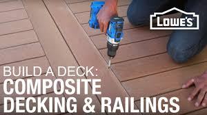 how to build a deck posite decking railings 3 of 5