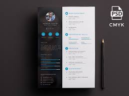 Creative Resume Custom Creative Resume Template By Micromove Dribbble