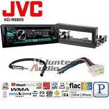 how to install a jvc car radio jvc car radio stereo cd player dash install mounting kit harness usb aux mp3