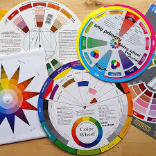 This color printable gives children fine motor practice as they manipulate the wheels to match the hearts, animals and color words. Color Wheel Basics Weallsew