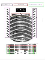 Maryland Hall Main Stage Seating Chart For Live Arts Maryland