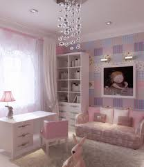 Superb Little Girl Bedroom For Your Daughters : Delightful Pink And Purple  Little Girl Bedroom Decoration
