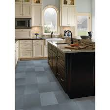 Slate Kitchen Floor Tiles Ms International Montauk Blue 12 In X 12 In Gauged Slate Floor