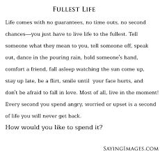 Quotes About Living Life To The Fullest Amazing Quotes On How To Live Life Adorable Top 48 Quotes About Living Life