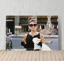 audrey hepburn breakfast at tiffany s decorative wall art canvas print modern on audrey hepburn breakfast at tiffanys wall art with audrey hepburn breakfast at tiffany s decorative wall art canvas
