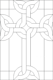 stain glass cross pattern stained patterns free printable easily find for from celtic