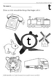 Letter T Phonics Activities And Printable Teaching Resources