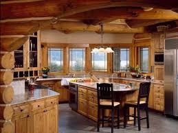kitchen log cabin kitchens design ideas log cabin kitchens design