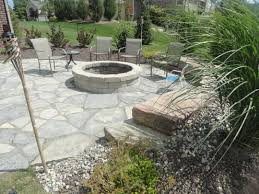 patio ideas with fire pit. Fire Pit And New York Blue Flagstone. Memorial IdeasFlagstonePatio Patio Ideas With