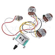 electric guitar wiring harness kit 3 way toggle switch 1v1t for electric guitar wiring harness prewired kit 5 way 250k 2t1v pots for strat parts