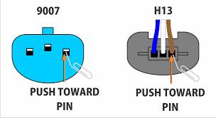 headlight socket wiring diagram headlight image 9007 bulb wiring solidfonts on headlight socket wiring diagram