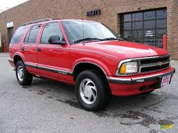 1996 Red Chevy Blazer - Oasis amor Fashion