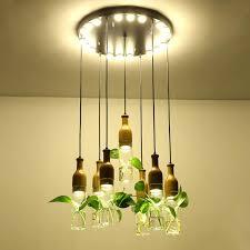 lamp planters hanging lights