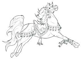 Wild Horse Coloring Pages Qnrfsubmission