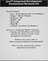 Java Integrated Development Environment Resource Kit: Addison-Wesley,  Pearson: 9780132570817: Amazon.com: Books