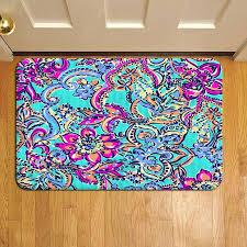 lilly pulitzer rug fl tropical pattern lilly door mat rug carpet doormat doorsteps foot pads lilly lilly pulitzer rug