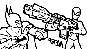 Nerf Coloring Pages F5to Nerf Gun Coloring Pages At Getcolorings