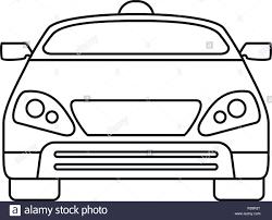 Car Outline Design Smart Modern Car Icon Outline Smart Modern Car Vector Icon